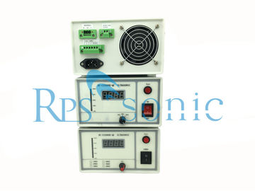 Compact Structure Ultrasonic Power Supply Lightweight Ultrasonic Welding Generator